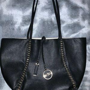 BCBG reversable tote bag